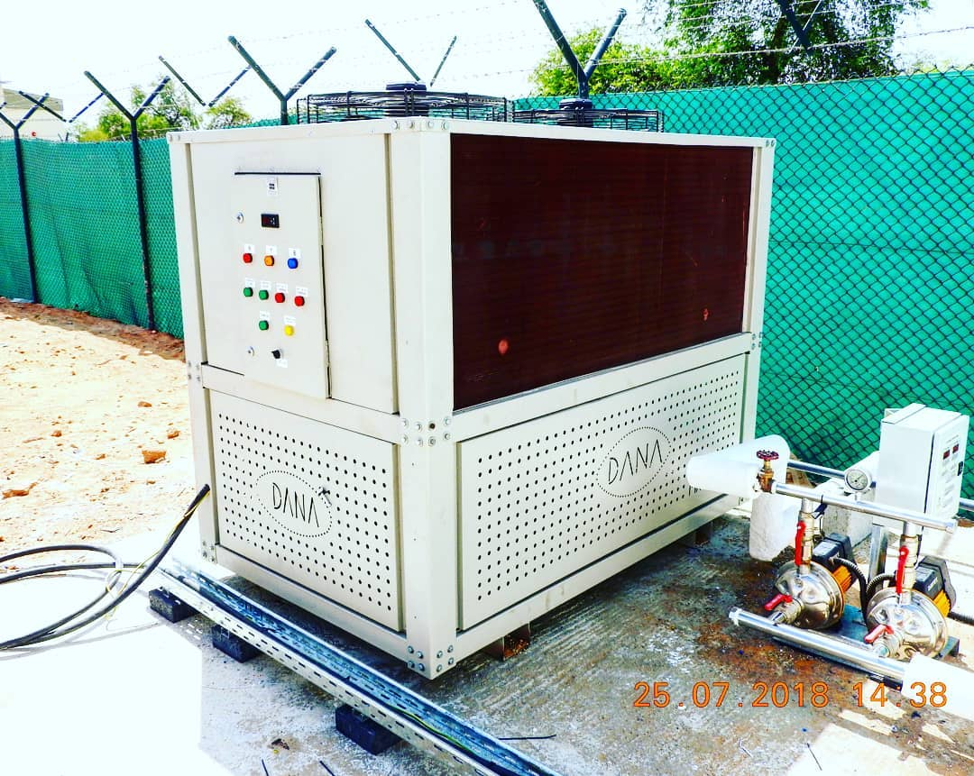 industrial heavy duty air cooled water chiller manufacturer uae