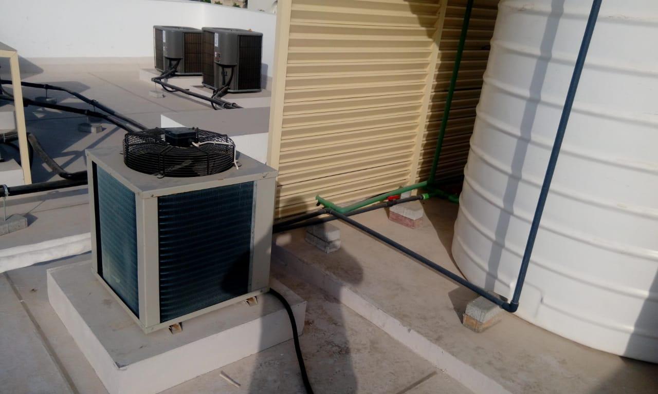 tank water cooling chiller in Dubai UAE