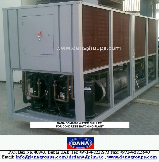 Skid Mounted Portable Chillers