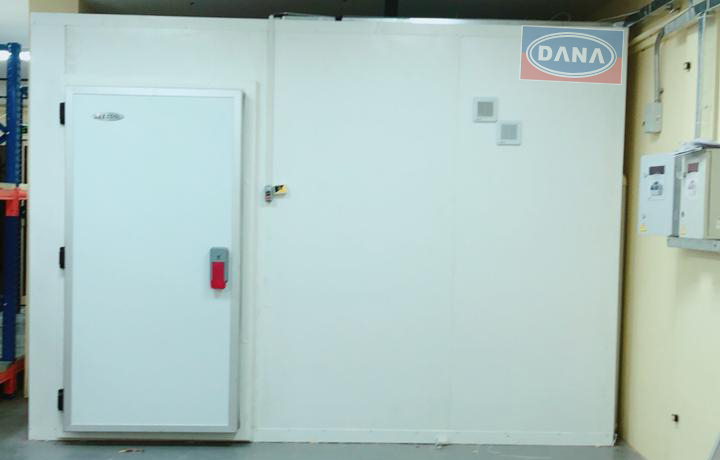 DANA Walk-In chillers comes in different sizes according to capacity desired