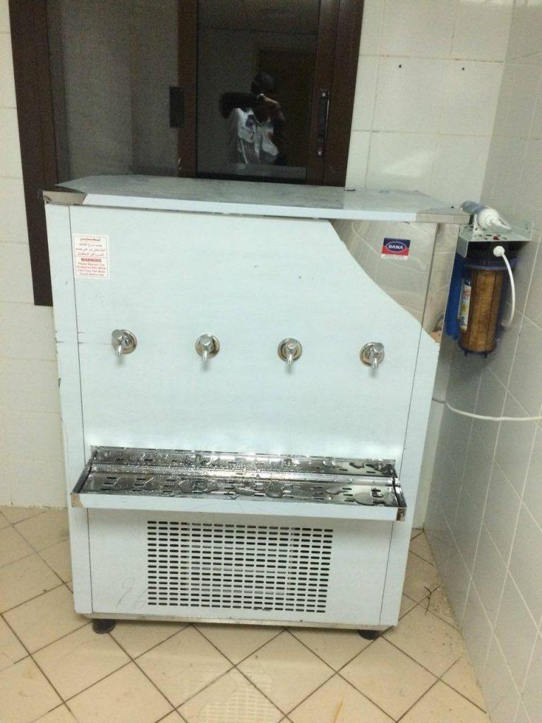 Dana stainless steel drinking water cooler model DWC85-4